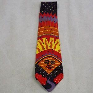 VTG Mens THE BEATLES Good Day Sunshine Necktie